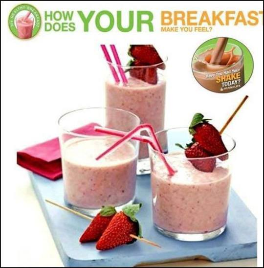 How does YOUR BREAKFAST make you feeel?...
