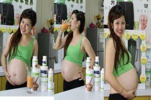Asiatin schwanger